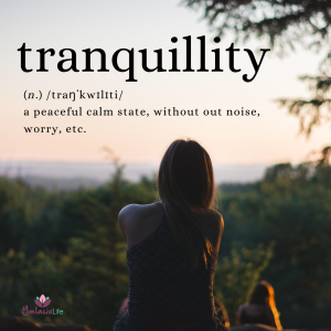 Oil of Tranquillity